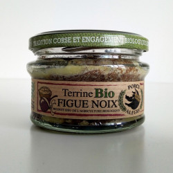 Terrine figue noix bio corse