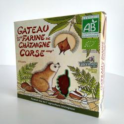 Gateau à la farine de chataigne Corse BIO