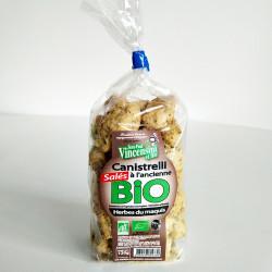 Canistrelli bio herbes du maquis corse à l'ancienne