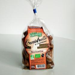 Canistrelli noisette bio