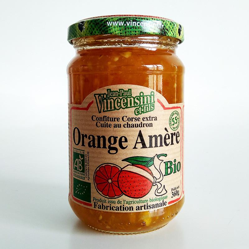 Confiture orange amère bio Corse