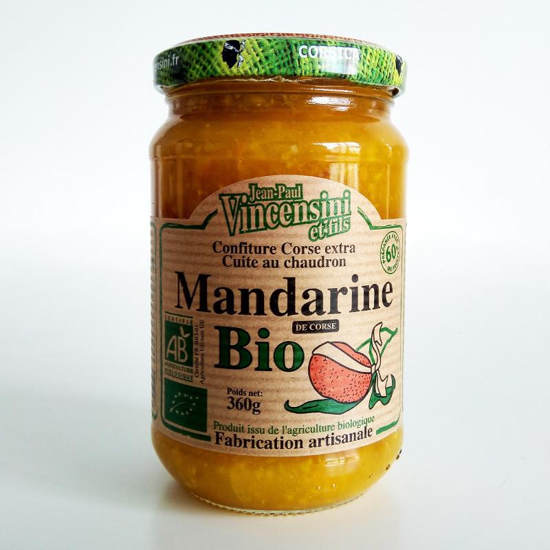 Confiture de mandarines Bio Corse