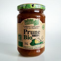 confiture de prunes Bio Corse