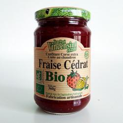 Confiture de fraise et cédrat Bio Corse